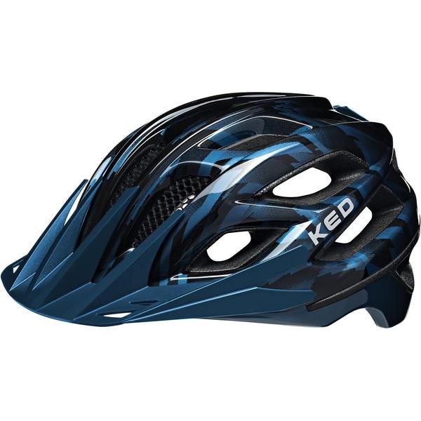 KED Helmsysteme Fahrradhelm Companion schwarz-blau