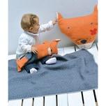 David Fussenegger Babydecke Juwel Fuchs Decke in Puppe 70 x 90 cm
