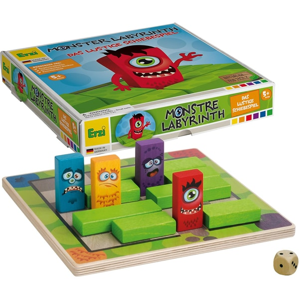 Erzi Spiel Monsterlabyrinth