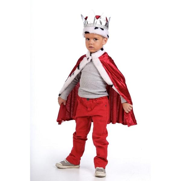 Limit Kostüm Königsumhang und -krone
