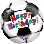 Karaloon Figuren-Folienballon Happy Birthday Fußball