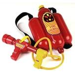 Klein Spielzeug Feuerwehrspritze