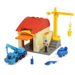 Dickie Toys Bob der Baumeister Garagen Spielset mit Muk Leo