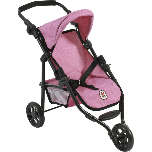 Chic 2000 Jogging-Buggy Lola Puppenwagen Jeans Pink