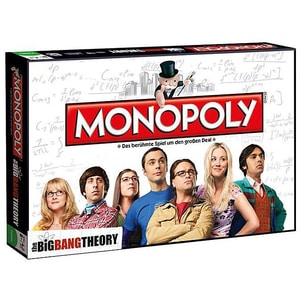 Winning Moves Monopoly Big Bang Theory Spiel