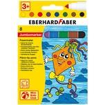 Eberhard Faber Mini Kids Filzstifte Jumbo Marker spitze Spitze 8 Farben