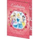 Nestler Einladungskarte Disney Princess 5 Stück inkl. Umschlag
