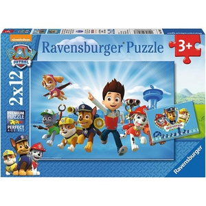 Ravensburger 2er Set Puzzle je 12 Teile 26x18 cm Ryder und die Paw Patrol