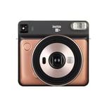 Fujifilm Instax Sofortbildkamera SQUARE SQ 6 blush gold