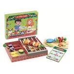 DJECO Rollenspiel Kinderküche - Spielgrill Joe und Max
