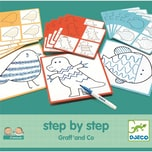 """DJECO Lernspiele- """"Step By Step"""" Graff' and Co"""