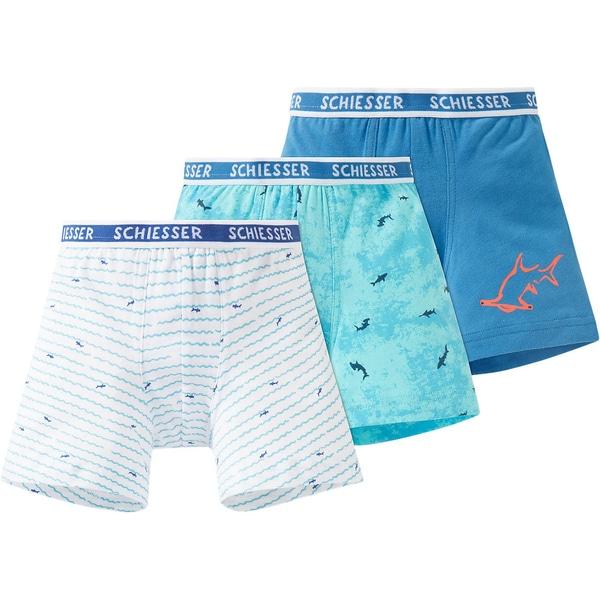 Schiesser Boxershorts 3er-Pack für Jungen