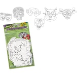 Folia Kindermasken Grusel 6 Stück
