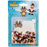 Hama Perlen HAMA 4117 Blister Weihnachten Pinguin 450 midi-Perlen Zubehör