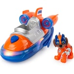 Spin Master PAW Patrol Mighty Pups Super Paws Luftkissenboot mit Zuma-Figur Basic Themed Vehicle