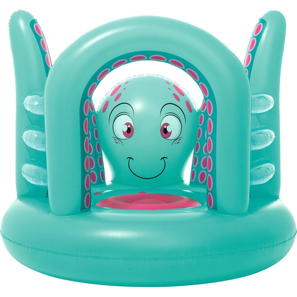 Bestway Mini Hüpfburg Octopus aufblasbar 142 x 137 x 114 cm