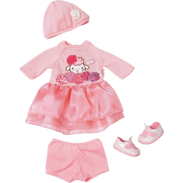Zapf Creation Baby Annabell Deluxe Set Strick 43cm Puppenkleidung