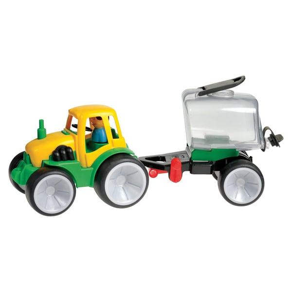 GOWI Traktor mit Fassanhänger 50 cm