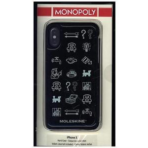 Moleskine Monopoly Limited Edition Iphone 10 Case Hard