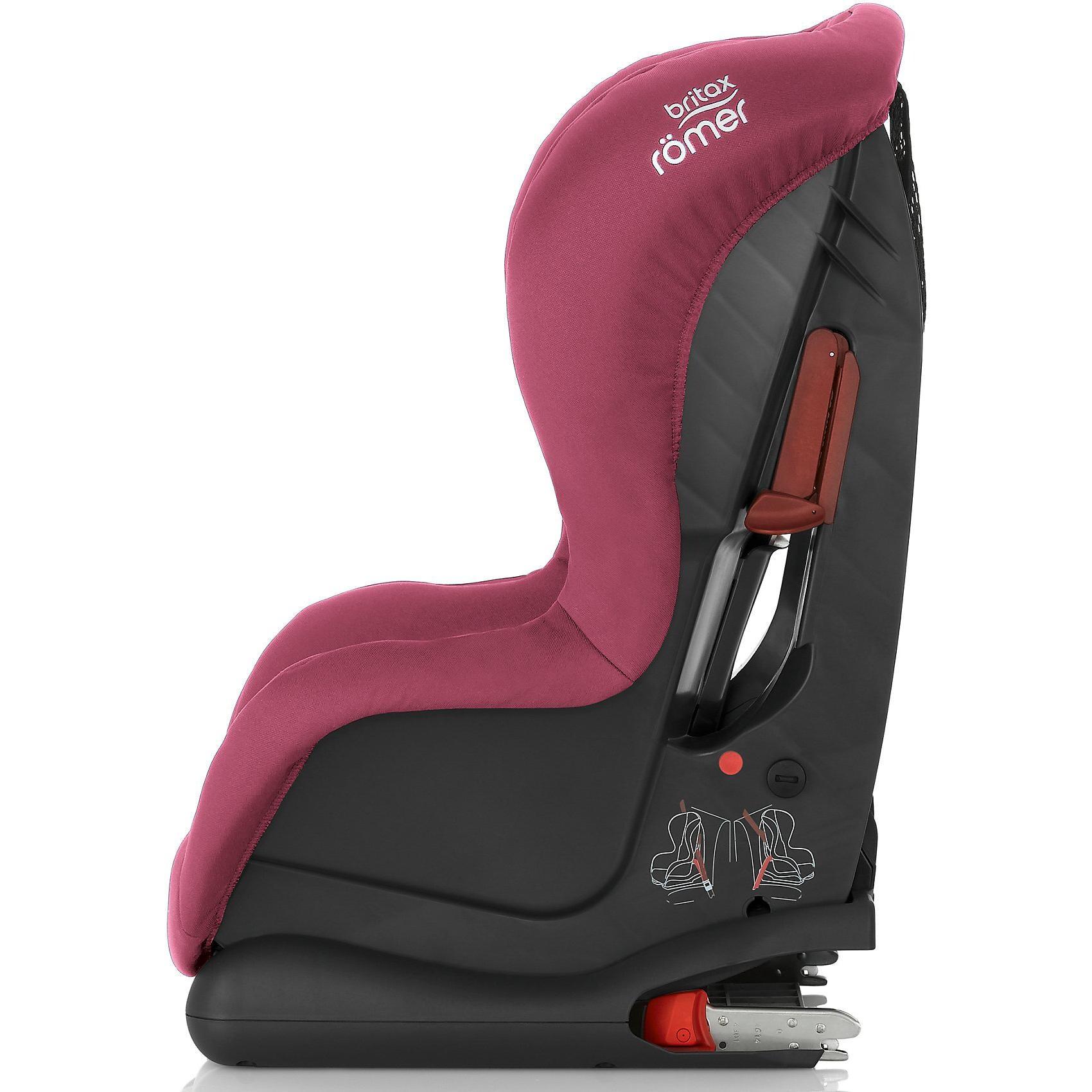 Britax Römer Auto-Kindersitz Duo Plus Wine Rose 2018