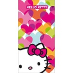CTI Strand- & Badetuch Hello Kitty, Mimi Love, 75 x 150 cm