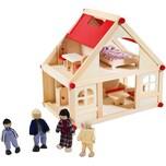 Glow2B Puppenhaus mit Möbel und Puppen