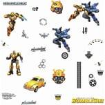 Roommates Wandsticker Transformers Bumblebee