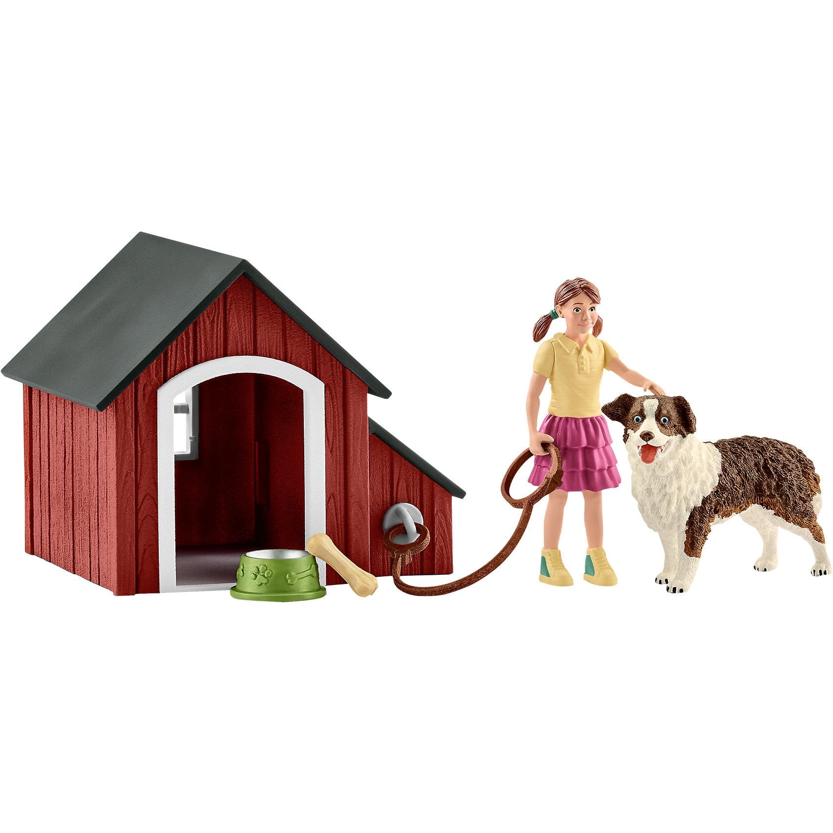 Schleich 42376 Farm World: Hundehütte