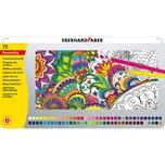 Eberhard Faber Buntstifte im Metalletui 72 Farben