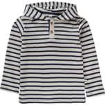 Leela Cotton Baby Langarmshirt mit Kapuze Organic Cotton