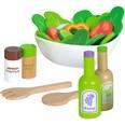 Eichhorn Salat aus Holz Spiellebensmittel