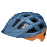 KED Helmsysteme Fahrradhelm Kailu deep blue cinnamon matt
