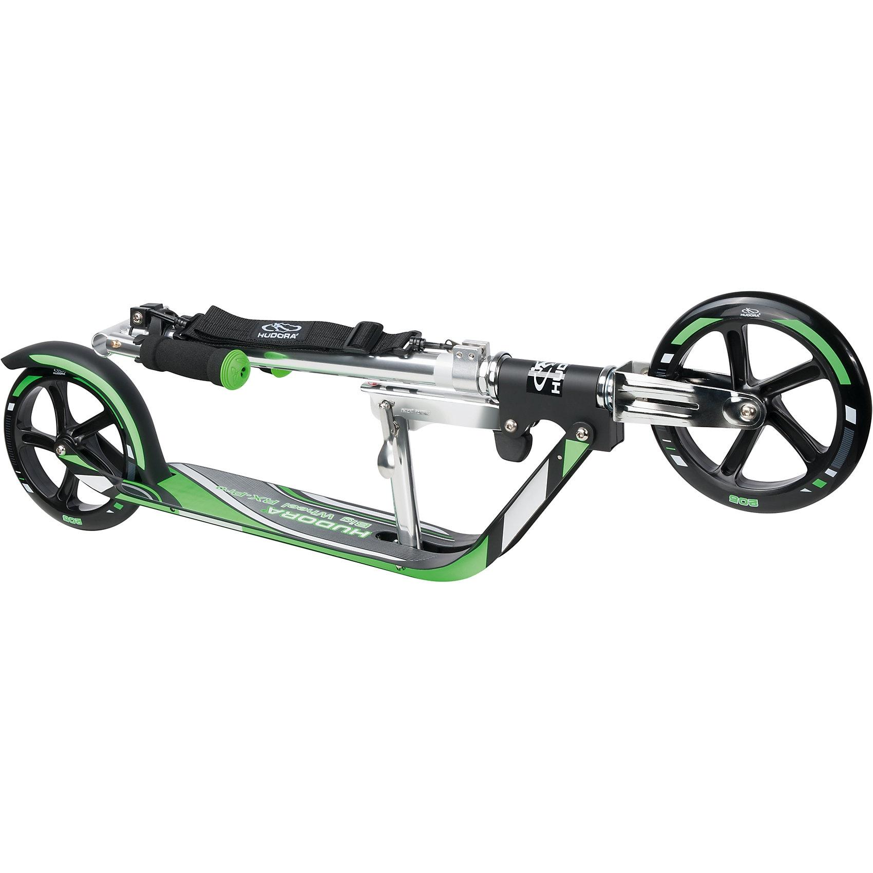 Hudora Scooter Big Wheel RX Pro 205 grün