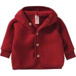 Engel Baby Wollfleece Jacke mit Kapuze
