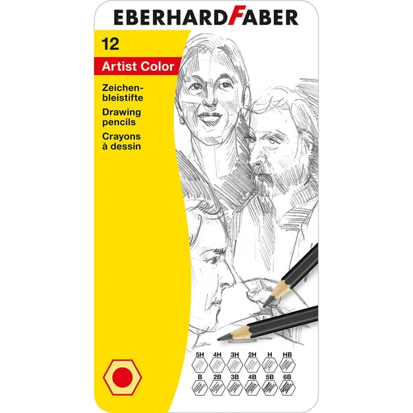 Eberhard Faber Zeichenbleistifte 12 Farben