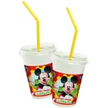 Procos Milchshake Becher Mickey Mouse Club House 8 Stück