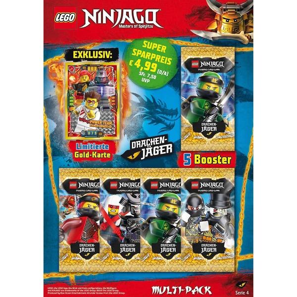 Top Media LEGO Ninjago Serie 4 Multi-Pack