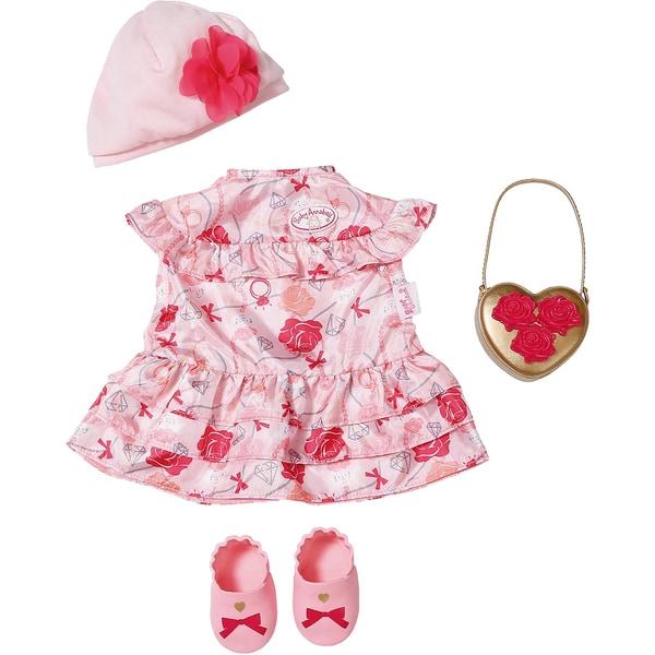 Zapf Creation Baby Annabell Deluxe Set Blumen 43cm Puppenkleidung