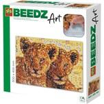 SES Creative Beedz Art - Bügelperlen Löwenwelpen 7.000 Perlen