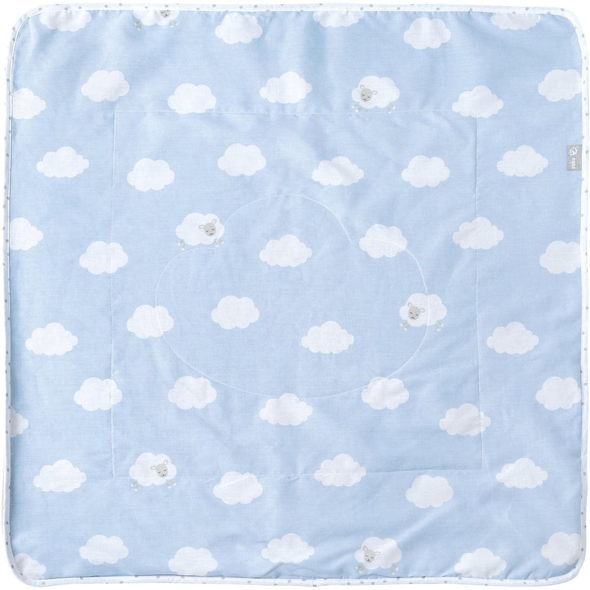 Roba Babydecke Kleine Wolke blau 80 x 80 cm