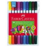 Faber-Castell DoppelFilzstifte 10 Farben