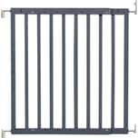 Badabulle Holz-Türschutzgitter Color Pop grau 63 bis 1035 cm