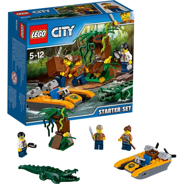 Lego City 60157 Dschungel Starter Set