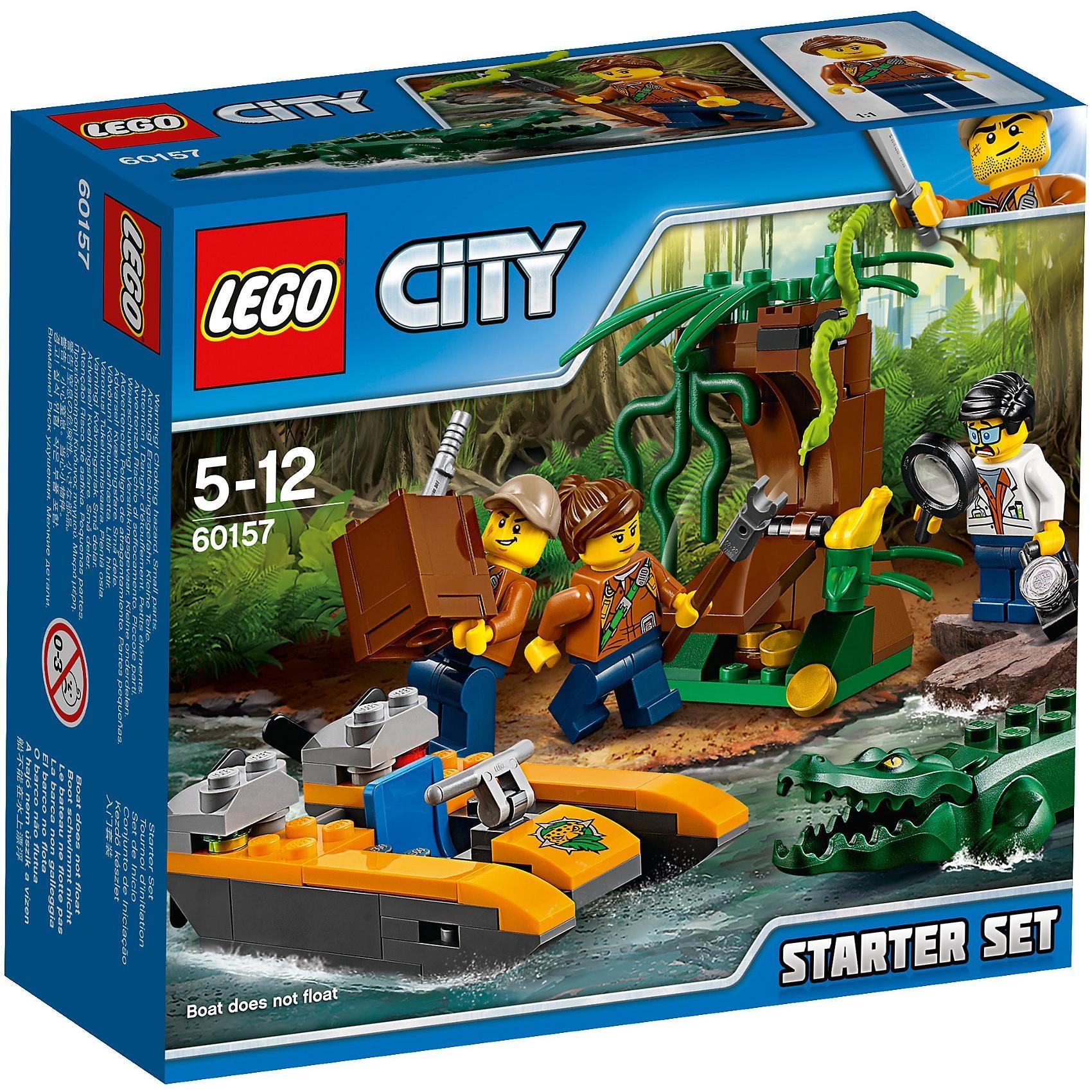 Lego City 60157 Dschungel Starter Set