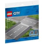 LEGO 60236 City Gerade und T-Kreuzung