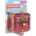 MAGFORMERS Magformers Figure Plus Girl Set
