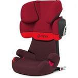 Cybex Auto-Kindersitz Solution X2-Fix Silver-Line Rumba Red 2018