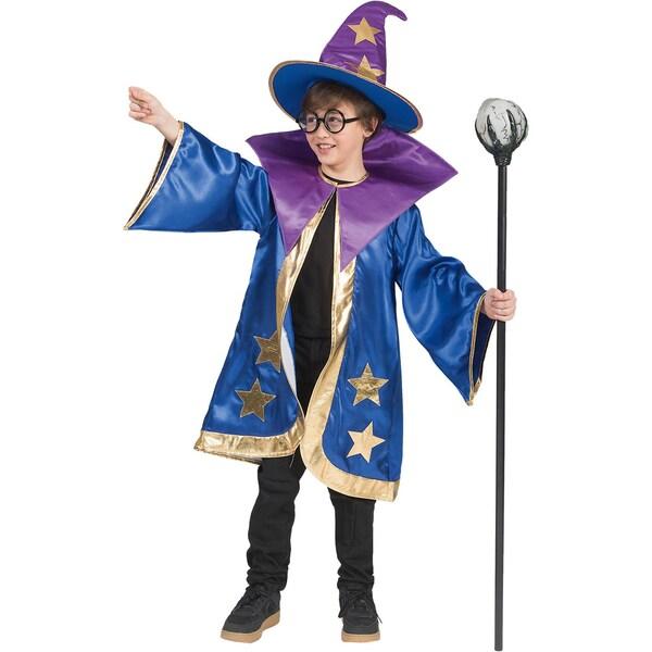 Funny Fashion Kostüm Magier 2-tlg.