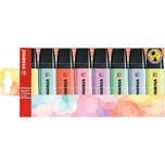 STABILO Textmarker BOSS Original Pastel 8 Farben