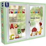 Feuchtmann Window Clay Maxi-Box Fensterknete 10 x 50 g